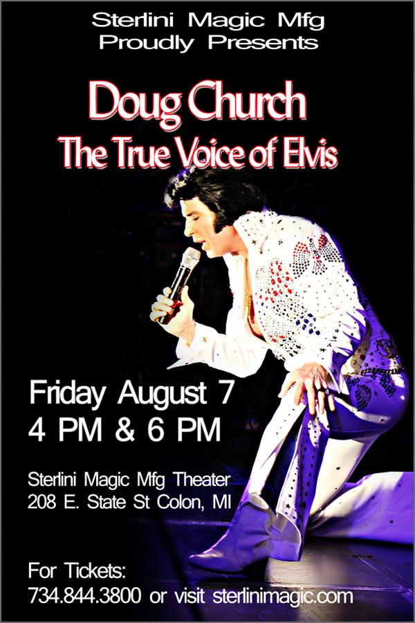 Doug Church-The Voice of Elvis