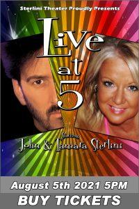 Sterlini's Live @ 5 Magic & Illusion Show